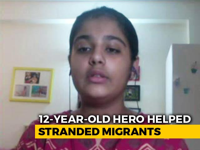 Video : 12-Year-Old Breaks Piggybank For Airfare For 3 Migrants