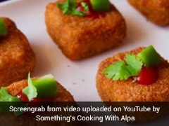 Watch: Craving Delicious, Off-Beat Snack? Try These Fried Stuffed Paneer Biscuits