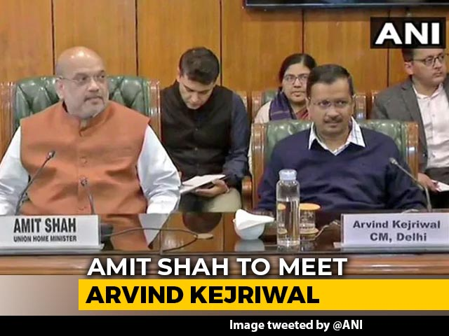 Video : Amit Shah, Arvind Kejriwal Meet Today As Coronavirus Cases Rise In Delhi