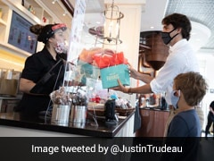 Justin Trudeau Takes Son Out For Ice Cream As Canada Pandemic Restrictions Ease