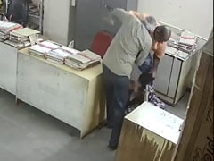 On Camera, Andhra Government Employee Hits Woman Who Asked Him To Wear Mask