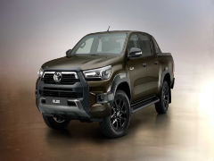 2021 Toyota Hilux Pick-Up SUV Unveiled In Thailand