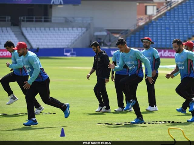 Afghanistan Cricket Team Set To Resume Training