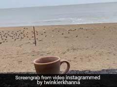 ट्विंकल खन्ना ने शेयर किया समुद्र का Video, लिखा- साइक्लोन का इंतजार कर रही हूं...