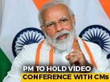 Video : PM Modi To Discuss Coronavirus Crisis With Chief Ministers On June 16, 17