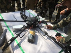 Pak Drone On Mission To Drop Weapons For Terrorists Shot Down In J&K