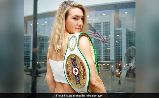 अमेरिकी बॉक्सर मिकेला मेयर कोरोना वायरस की चपेट में, ट्वीट कर बोलीं- काफी निराश हूं..