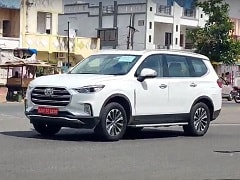 MG Gloster SUV Spotted Without Camouflage Ahead Of India Launch