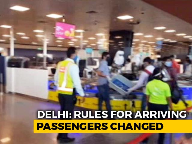 Video : 7-Day Home Quarantine For All Arriving In Delhi By Flights, Trains, Buses