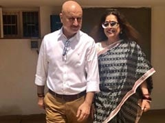 Anupam Kher's Birthday Wish For Wife Kirron Kher Is All Sorts Of Goals