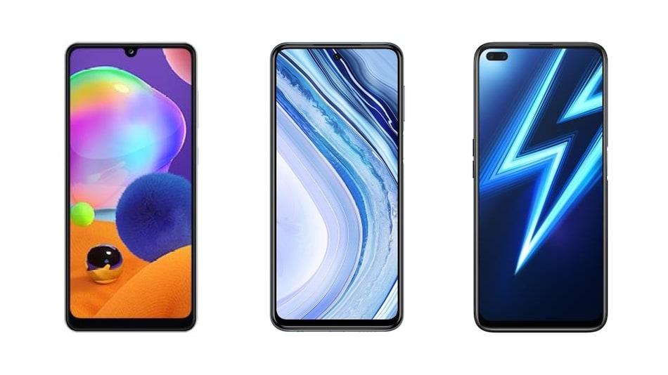 Samsung Galaxy A31, Redmi Note 9 Pro Max और Realme 6 Pro में कौन बेहतर?