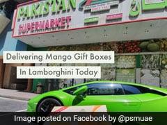 Dubai Supermarket Home Delivers 'King Of Fruits' Mango In Lamborghini