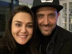 Hrithik Roshan's Comment On Preity Zinta's Pic With Husband Gene Goodenough Is Winning The Internet