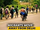 Video : Fearing A Healthcare Crisis, Families Leaving Delhi