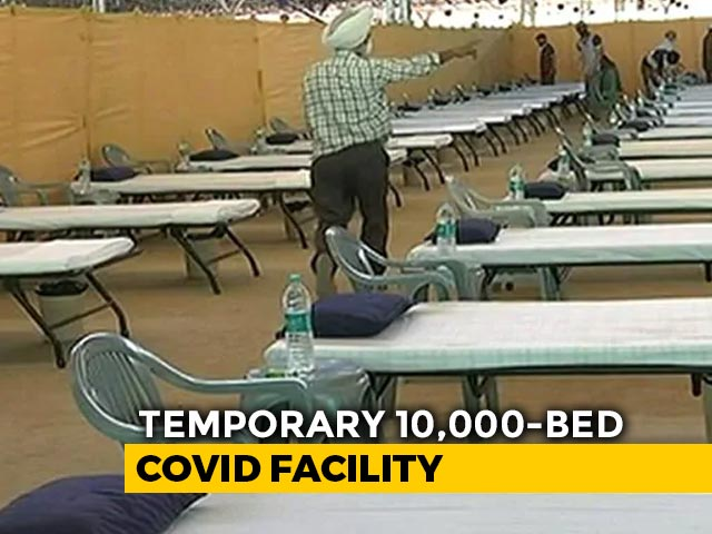 Video : World's Largest COVID Facility In Delhi, The Size Of 22 Football Fields
