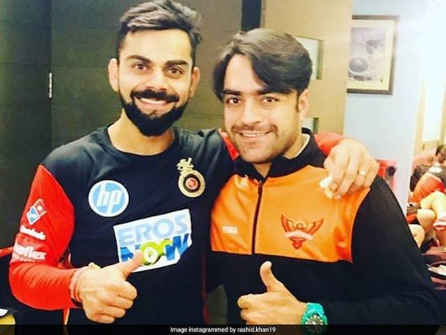 Rashid Khan Names Virat Kohli Among Four Batsmen He Finds Tough To Bowl To