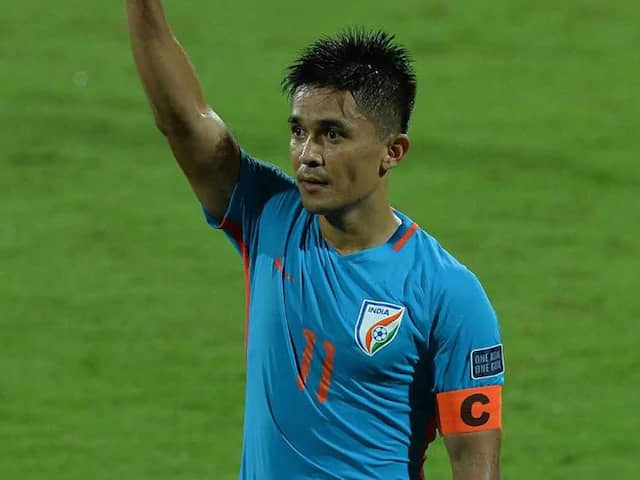Enjoying My Football, Not Going Away Anytime Soon: Sunil Chhetri