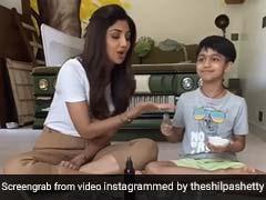 शिल्पा शेट्टी ने बेटे वियान के साथ बनाया DIY सॉल्ट स्क्रब, बच्चों और बड़ों देने के लिए बेहद फायदेमंद... देखें Video
