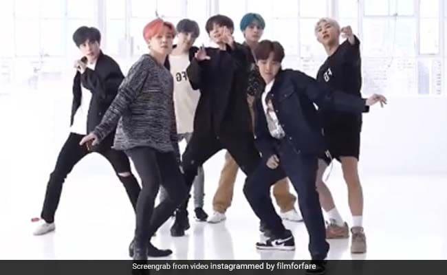 K-Pop Band BTS Dances To 'Chunnari Chunnari'. Video Will Make You LOL