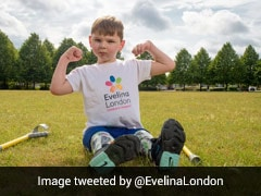 British Double Amputee, Aged 5, Raises 1 Million Pounds With Walk