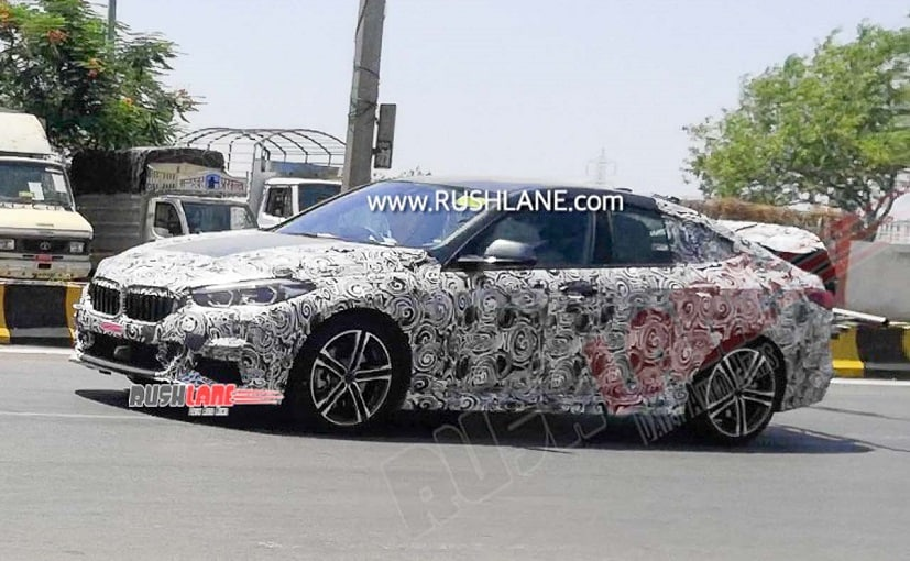2020 BMW 2 Series Gran Coupe Spied Testing In Pune During Lockdown