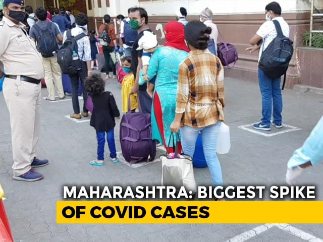 Maharashtra Records Highest Single-Day Spike In Coronavirus Deaths
