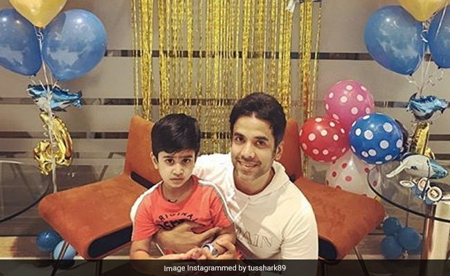 Tusshar Kapoor's Birthday Wish For His 'Gift From God' - Son Laksshya