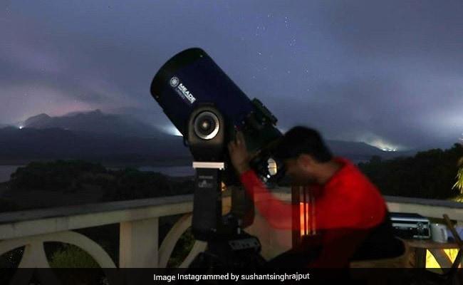 सुशांत सिंह राजपूत की बाल्कनी में मिला अत्याधुनिक टेलीस्कोप, पूरा करना चाहते थे यह सपना, वैज्ञानिक ने किए कई खुलासे