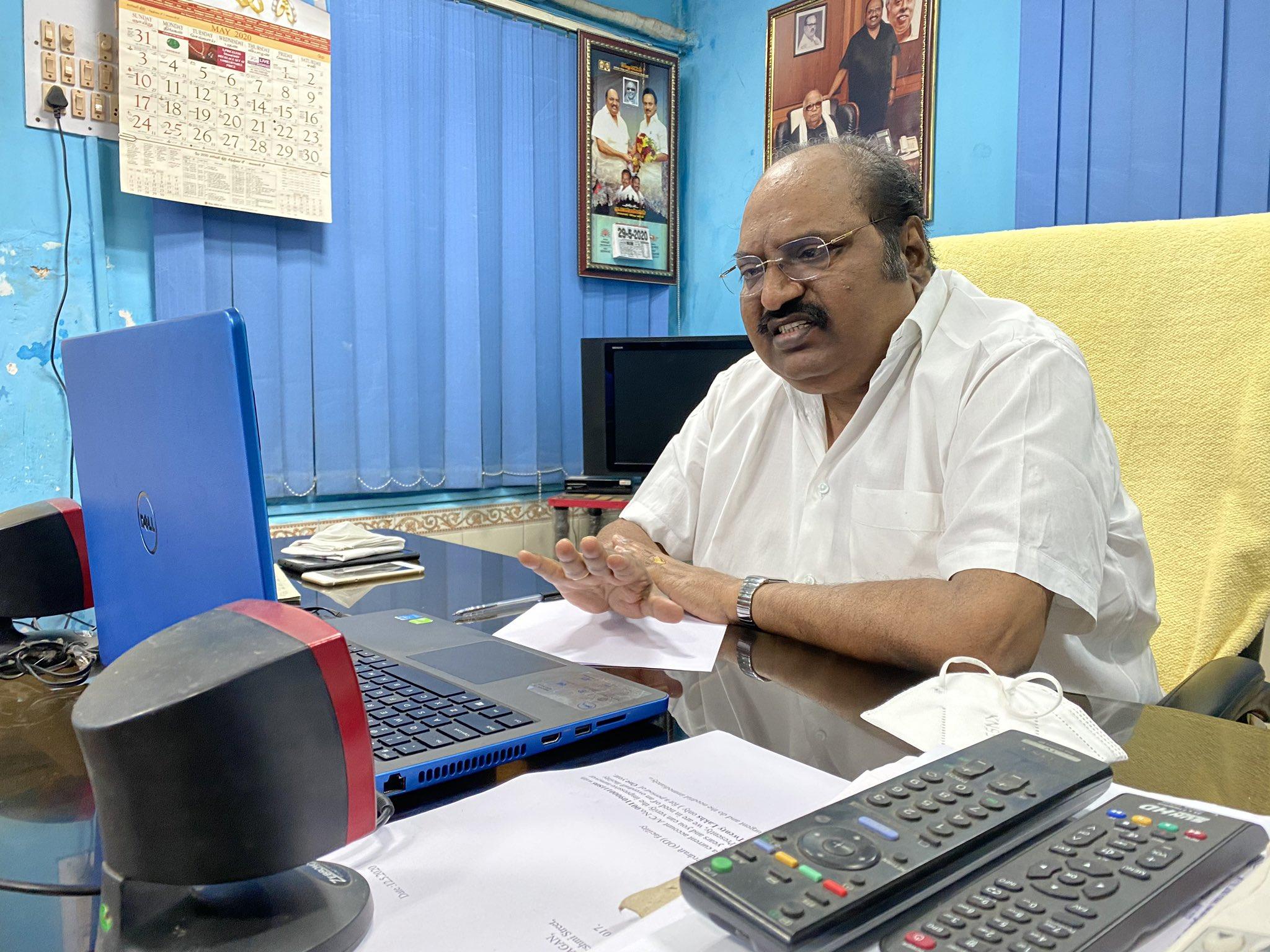 ஜெ.அன்பழகன் மறைவு: முதல்வர் இரங்கல்