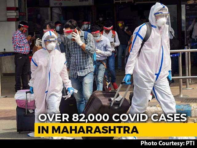 Video : Maharashtra Reports 2,739 Coronavirus Cases, 120 Deaths In A Day