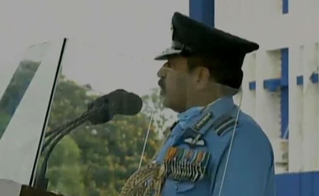 वायुसेना प्रमुख आरकेएस भदौरिया ने कहा, ''व्यर्थ नहीं जाने देंगे गालवान घाटी में दिया गया बलिदान''