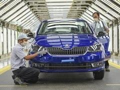Skoda Auto Volkswagen India Resumes Production At Pune Plant