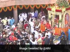Ahmedabad's Jagannath Temple Observes Symbolic <i>'Rath Yatra'</i> Amid COVID-19