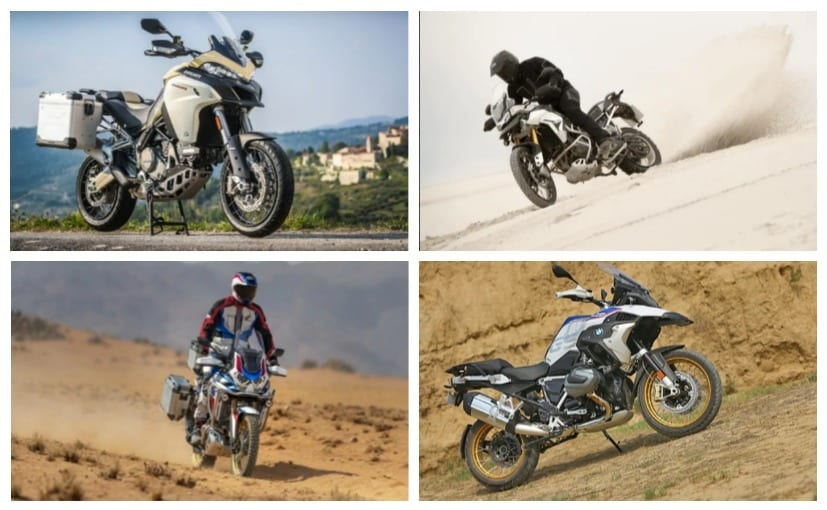 A look at the best premium adventure bikes available on sale in India