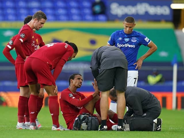Liverpools Joel Matip To Miss Rest Of Premier League Season Due To Foot Injury