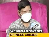 "Video : Boycott Chinese Food, Says Union Minister Who Shouted ""Go Corona"""
