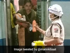 Cop Brings Milk From Her House To Help Hungry Child On Shramik Train