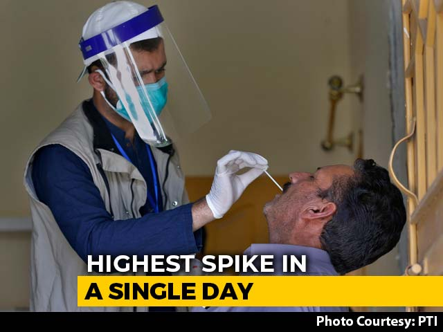 Video : 14,516 Coronavirus Cases In India In 24 hours In Steepest One-Day Jump