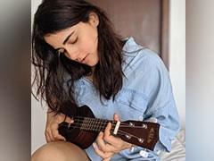 <i>Angrezi Medium</i> Actress Radhika Madan Is Learning Ukulele. See Her Post