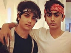 "Malaika Arora Shares Throwback Pic Of ""Bandana Brothers"" Arhaan And Nirvaan And It's Winning The Internet"