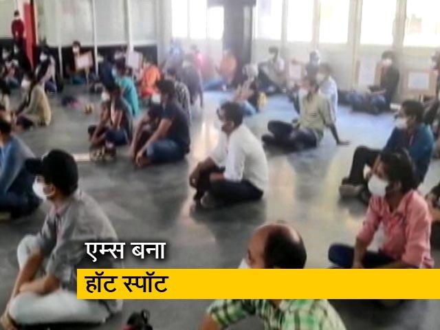Video : रवीश कुमार का प्राइम टाइम : एम्स में नर्सिंग स्टाफ का विरोध प्रदर्शन