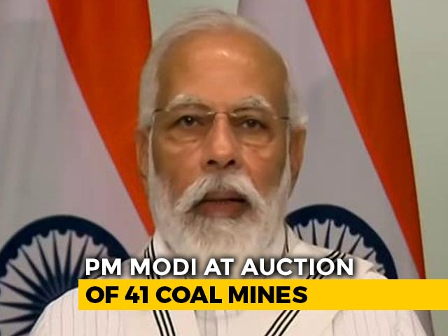 "Video : ""Coal Sector Taken Out Of Decades Of Lockdown"": PM Announces ""Big Step"""
