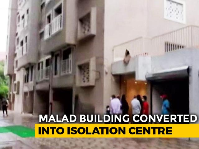 Video : Mumbai Builder Hands Over 19-Storey Building For Coronavirus Facility