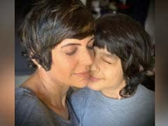"""Mandira Bedi, Who Battled Anger Issues, Shares What Son Made As """"Constant Reminder"""""""