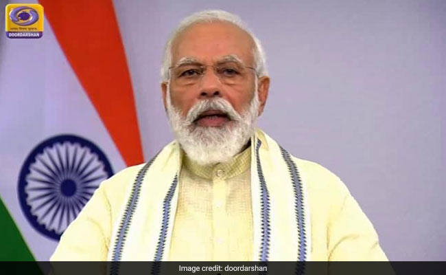 PM Modi Shares Rendering Of His Address To Nation In Various Languages