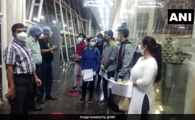 Air India Flight With Indian Students From Kyrgyzstan Lands In Indore