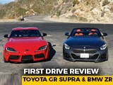 Video : BMW Z4 And Toyota GR Supra Review