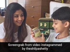 Shilpa Shetty's DIY Scrub Is A Good Idea For Beauty Lovers And Kids Alike