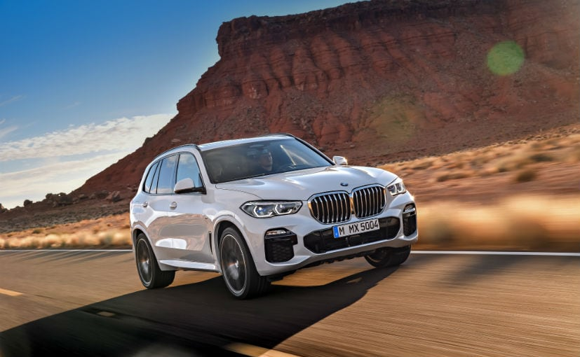 2020 BMW X5 Diesel Gets A New Base Version; Priced At Rs. 74.90 Lakh