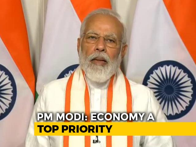 """Video : """"India Will Get Growth Back. Trust Me, Not So Difficult"""": PM To Industry"""